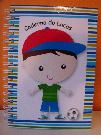 Caderno personalizado - Fabee Store