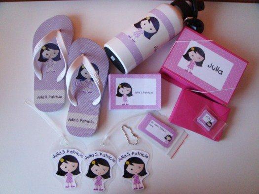Produtos personalizados para o presente do dia das crianças