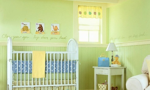 Decoração de quarto de bebê - menino
