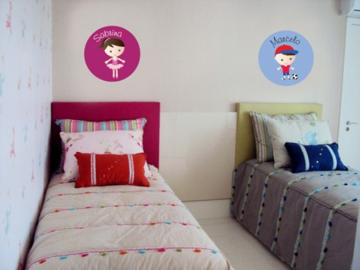Adesivos decorativos para parede