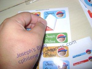 Etiquetas de vinil