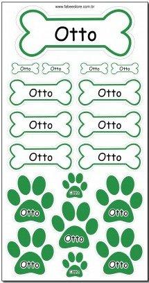 Etiquetas personalizadas para pets