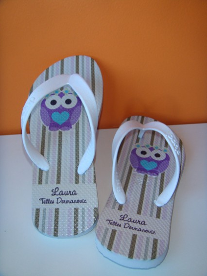 Chinelos Personalizados - Fabee Store