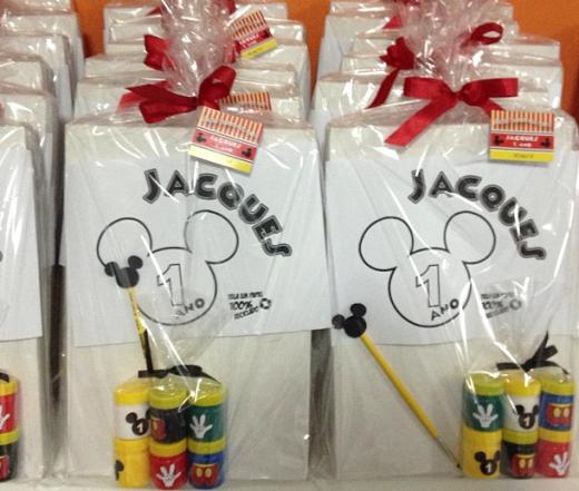 Decoração de festa infantil: tema Mickey