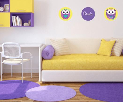decoracao alternativa de quarto infantil – Doitricom