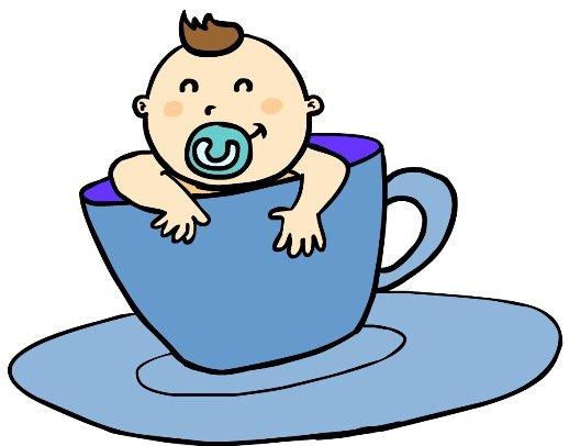 Ideias de convite e lembrança para chá de bebê