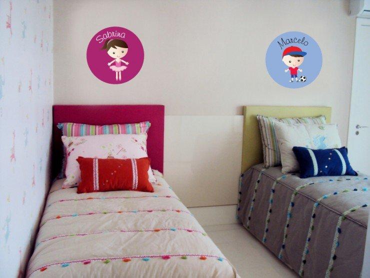 5 dicas fáceis para decorar o quarto das crianças Blog  ~ Quarto Pequeno Para Um Casal De Filhos