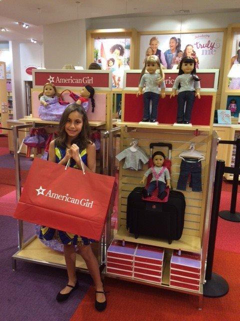 Compras na American Girl: Um sonho de loja