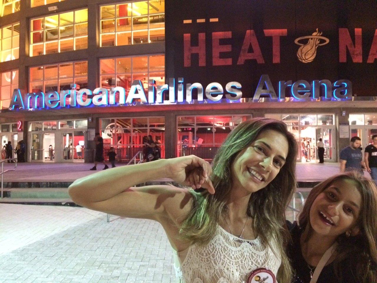 Chegamos! #GoGoGo Miami Heat!