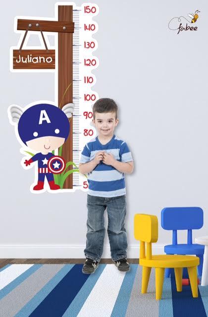 Régua de Crescimento Infantil