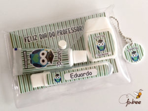 Kit Dental Personalizado Dia dos Professores