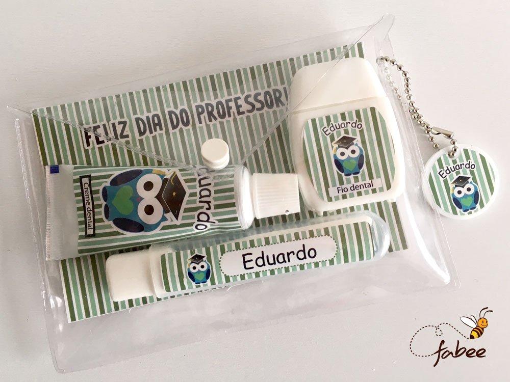 Kit Dental Personalizado Dia dos Professores