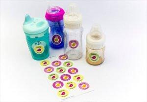 Etiquetas Personalizadas Para Mamadeiras