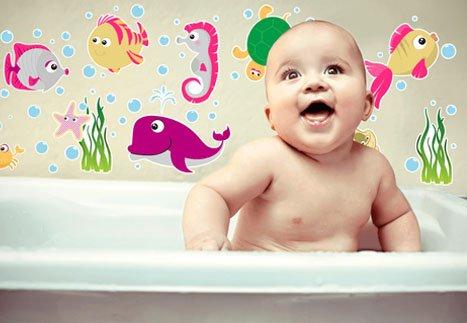 Etiquetas a Prova D'agua Para Banho