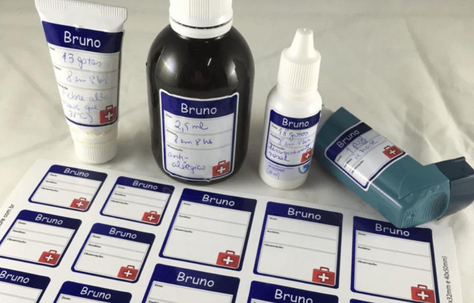 etiquetas personalizadas para remédios
