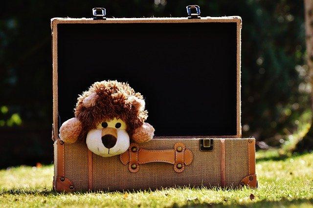 organizar a mala de viagem das crianças