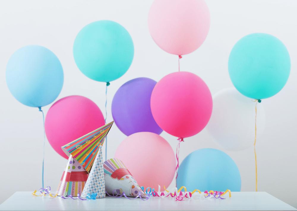 Decoração para festa de Dia das Crianças - balões